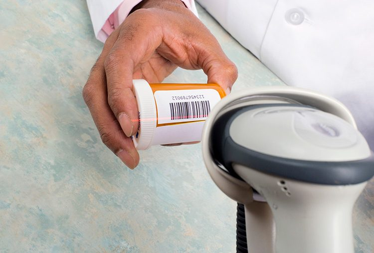 Scanning Medical Label