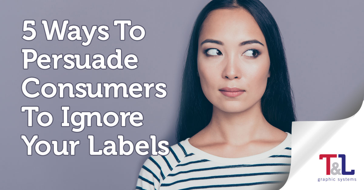 Avoid these label design mistakes